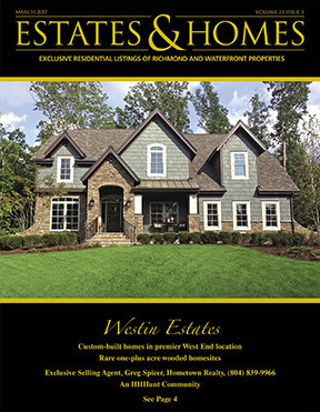ESTATES & HOMES Magazine Cover. Vol. 23, Issue 03, Page 4.