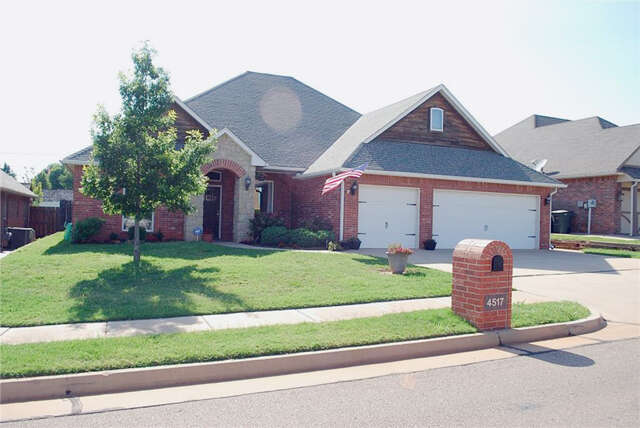 Real Estate for Sale, ListingId:45699042, location: 4517 Spectacular Bid Edmond 73025