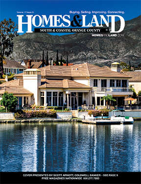HOMES & LAND Magazine Cover. Vol. 17, Issue 08, Page 9.