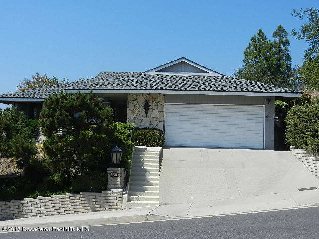 Single Family for Sale at 3867 San Augustine Drive Glendale, California 91206 United States