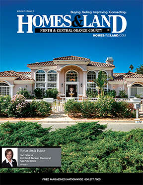 HOMES & LAND Magazine Cover. Vol. 13, Issue 02, Page 6.