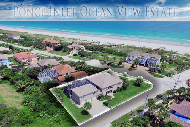 Single Family for Sale at 4892 S Atlantic Avenue Ponce Inlet, Florida 32127 United States