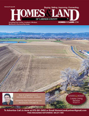 HOMES & LAND Magazine Cover. Vol. 34, Issue 09, Page 2.