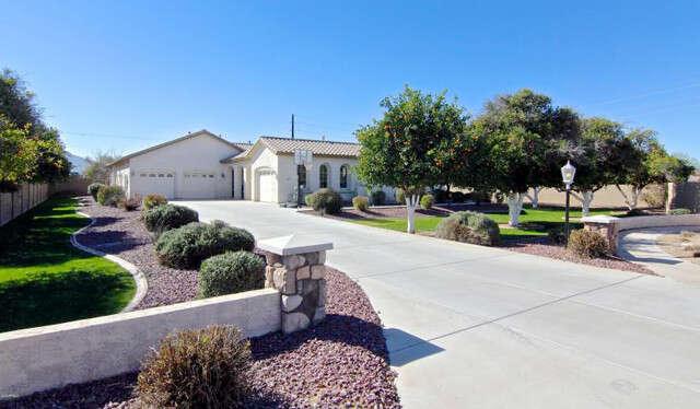 Single Family for Sale at 3225 E Vallejo Ct Gilbert, Arizona 85298 United States