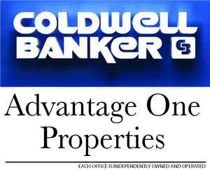Coldwell Banker Advantage One Properties