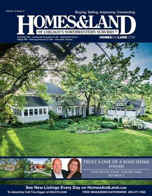 HOMES & LAND Magazine Cover. Vol. 12, Issue 03, Page 5.