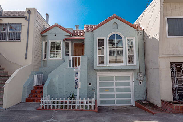 Single Family for Sale at 437 Campbell Ave San Francisco, California 94116 United States