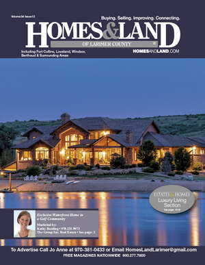 HOMES & LAND Magazine Cover. Vol. 34, Issue 12, Page 2.