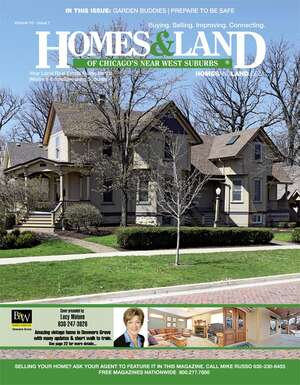 HOMES & LAND Magazine Cover. Vol. 10, Issue 07, Page 22.