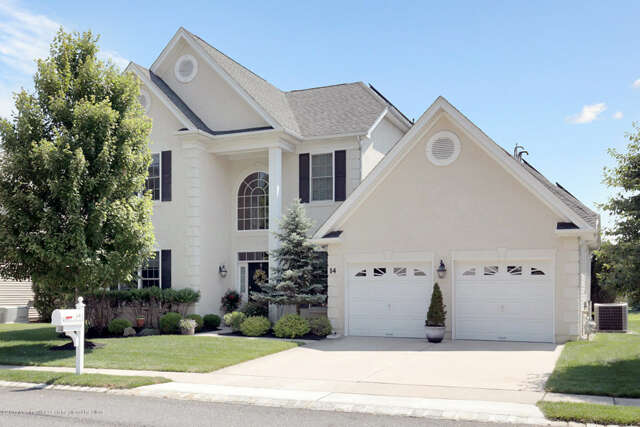 Single Family for Sale at 14 Carleton Drive Freehold, New Jersey 07728 United States