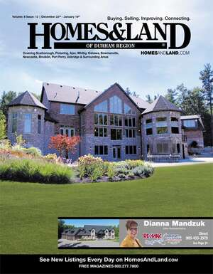HOMES & LAND Magazine Cover. Vol. 08, Issue 13, Page 2.