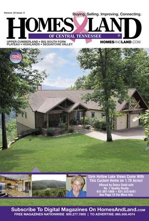 Homes & Land Digest of Central Tennessee