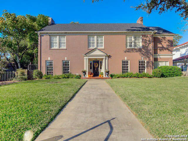 Single Family for Sale at 125 W Gramercy Place San Antonio, Texas 78212 United States