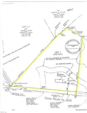 Land for Sale, ListingId:53307774, location: 6+ACR Adams Creek Road Gloucester 23061