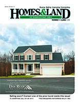 HOMES & LAND Magazine Cover. Vol. 29, Issue 10, Page 10.
