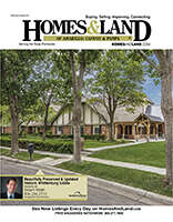 HOMES & LAND Magazine Cover. Vol. 08, Issue 13, Page 27.