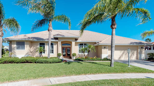 Single Family for Sale at 4885 Hawksbill Court Melbourne Beach, Florida 32951 United States