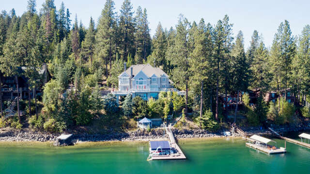 Single Family for Sale at 5461 E Hayden Lake Rd Hayden, Idaho 83835 United States