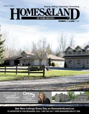 HOMES & LAND Magazine Cover. Vol. 10, Issue 07, Page 39.