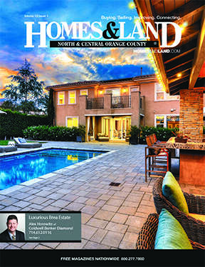 HOMES & LAND Magazine Cover. Vol. 13, Issue 01, Page 2.