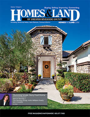 HOMES & LAND Magazine Cover. Vol. 12, Issue 06, Page 4.