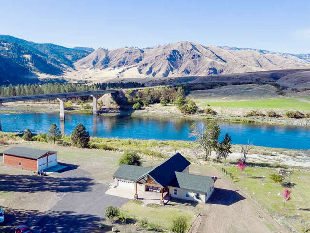 Single Family for Sale at 110 River Bend Road White Bird, Idaho 83554 United States