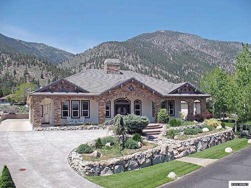 Single Family for Sale at 2390 Genoa Highlands Drive Genoa, Nevada 89411 United States