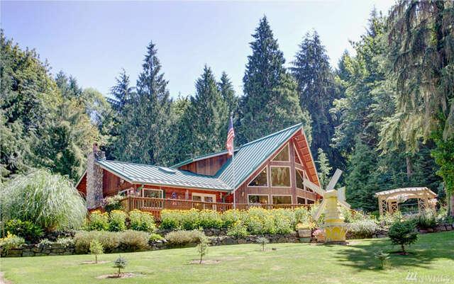 Single Family for Sale at 51207 Lillie Dale Rd E Eatonville, Washington 98328 United States