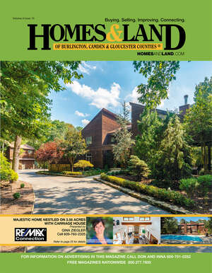 HOMES & LAND Magazine Cover. Vol. 06, Issue 10, Page 25.