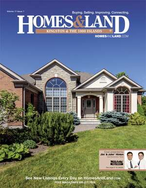 HOMES & LAND Magazine Cover. Vol. 11, Issue 07, Page 9.