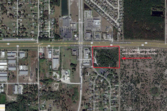 Land for Sale at 4922 E Irlo Bronson Mem Highway St. Cloud, Florida 34771 United States