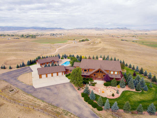 Single Family for Sale at 6625 N County Road 29c Bellvue, Colorado 80512 United States