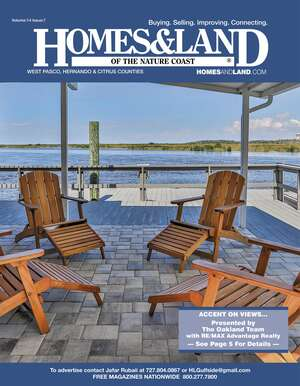HOMES & LAND Magazine Cover. Vol. 14, Issue 07, Page 5.