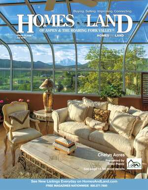 HOMES & LAND Magazine Cover. Vol. 30, Issue 07, Page 15.