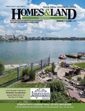 HOMES & LAND Magazine Cover. Vol. 15, Issue 11, Page 27.