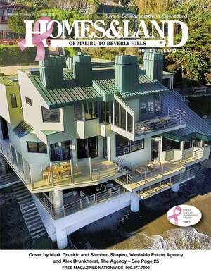 HOMES & LAND Magazine Cover. Vol. 37, Issue 07, Page 25.