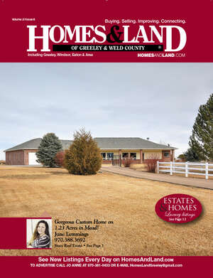 HOMES & LAND Magazine Cover. Vol. 31, Issue 06, Page 3.
