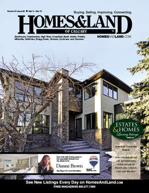 HOMES & LAND Magazine Cover. Vol. 15, Issue 09, Page 5.