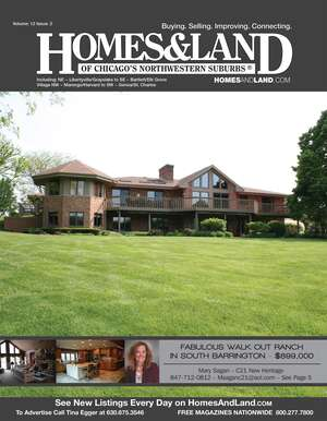 HOMES & LAND Magazine Cover. Vol. 12, Issue 02, Page 5.