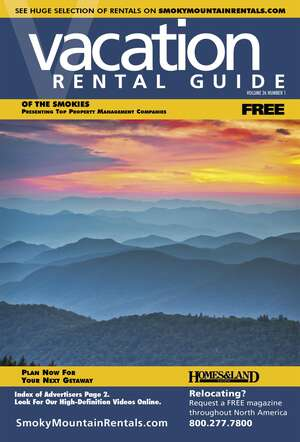 RENTAL GUIDE Magazine Cover.