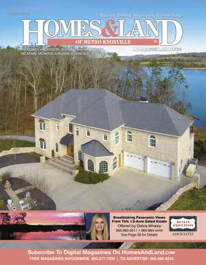 HOMES & LAND Magazine Cover. Vol. 23, Issue 01, Page 36.