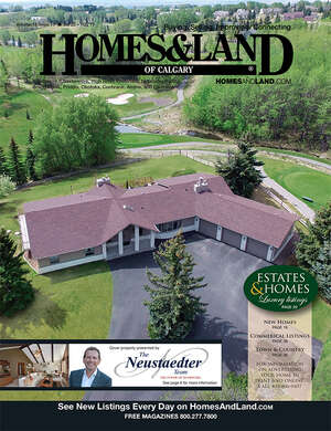 HOMES & LAND Magazine Cover. Vol. 14, Issue 13, Page 8.