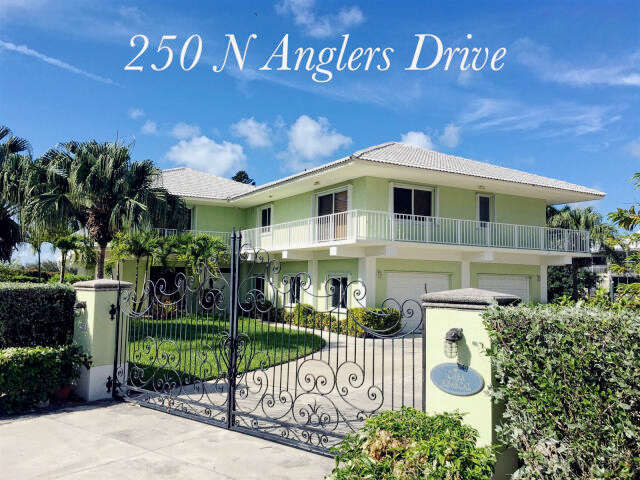 Single Family for Sale at 250 N. Anglers Drive Duck Key, Florida 33050 United States