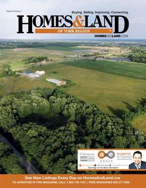 HOMES & LAND Magazine Cover. Vol. 10, Issue 01, Page 15.