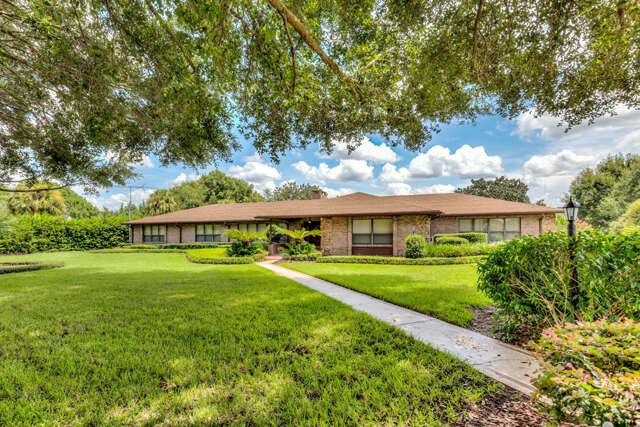 Single Family for Sale at 1729 Old Mount Dora Road Eustis, Florida 32726 United States