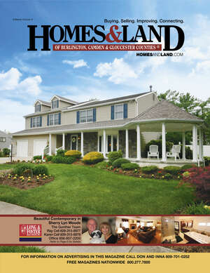 HOMES & LAND Magazine Cover. Vol. 06, Issue 04, Page 6.