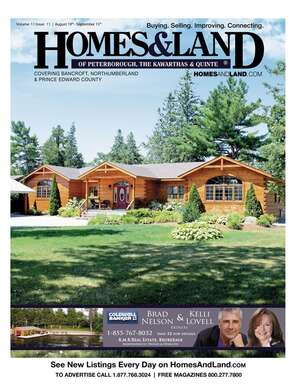 HOMES & LAND Magazine Cover. Vol. 11, Issue 11, Page 32.