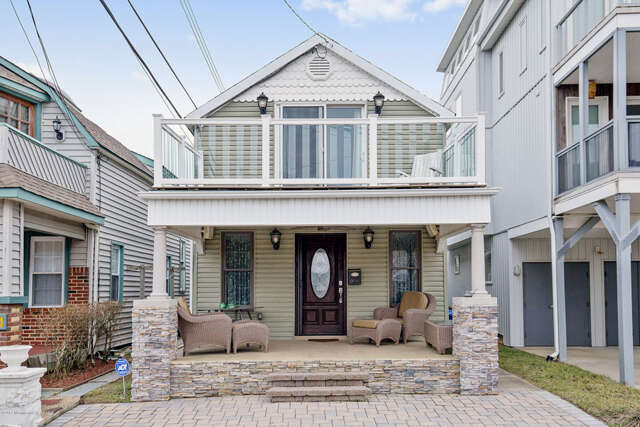 Single Family for Sale at 105 1/2 Cliff Avenue Bradley Beach, New Jersey 07720 United States