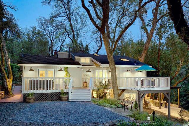 Single Family for Sale at 4357 Lakeside Road Glen Ellen, California 95442 United States