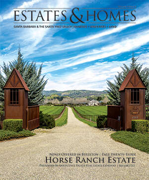 ESTATES & HOMES Magazine Cover. Vol. 02, Issue 08, Page 23.